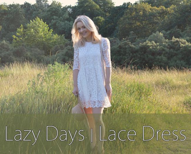 Lazy Days Lace Dress Header