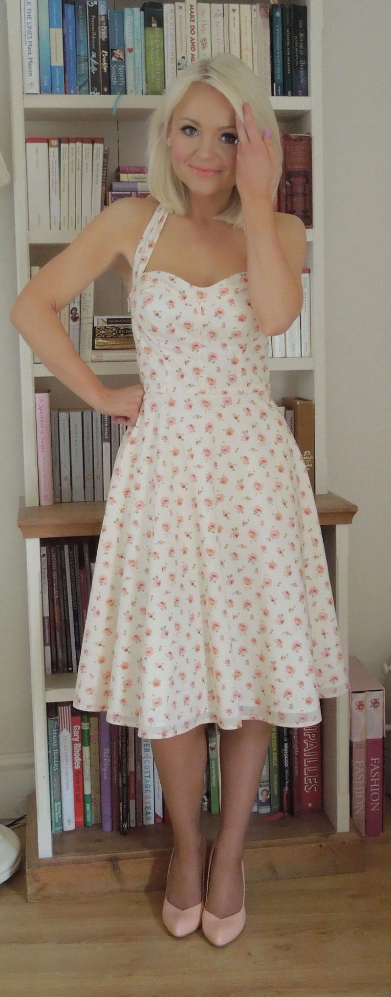 Rosa Liberty Print Dress