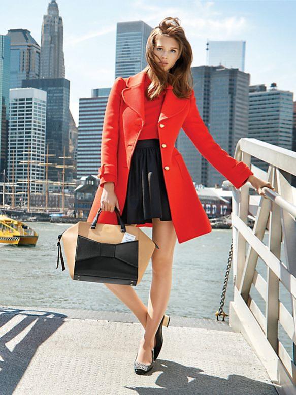 Eryn Coat Kate Spade