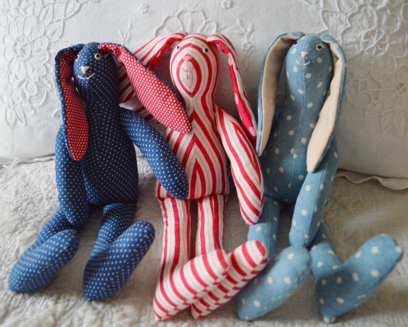 Hand Made Bunny Toys