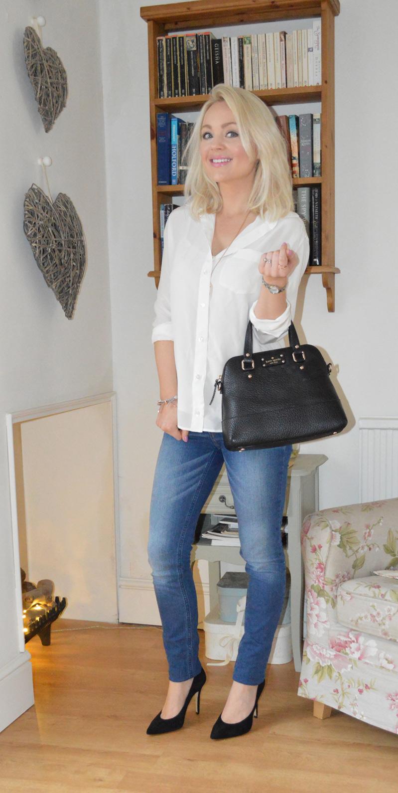 Silk Shirt with Bag