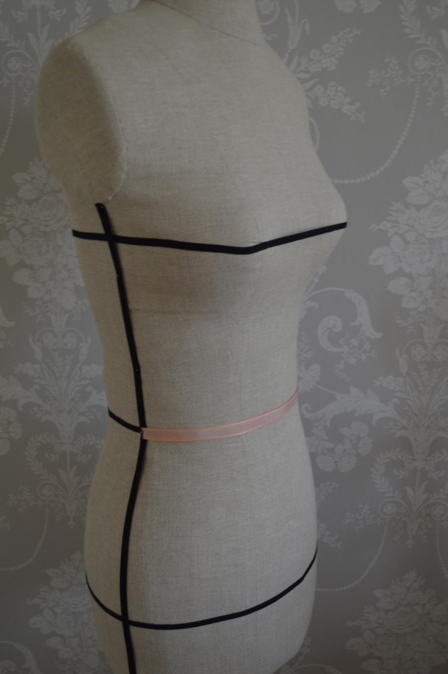 front waist dressform